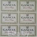 """Наклейки на бутылку вина  """"Gancia"""", 16 шт. №5"""