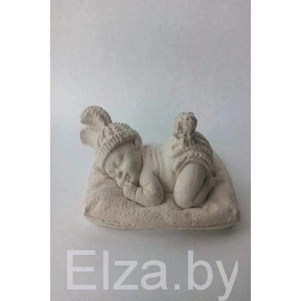 """малыш на одеялке"" 3D"