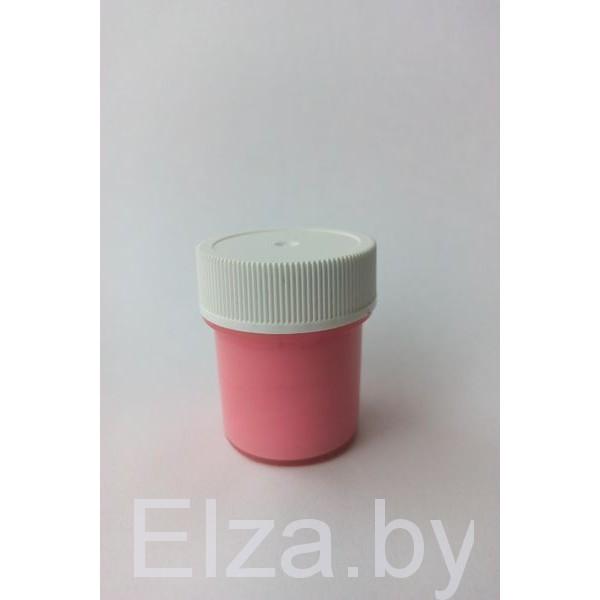"""акриловая краска цвет """"розовый"""" 20мл."""
