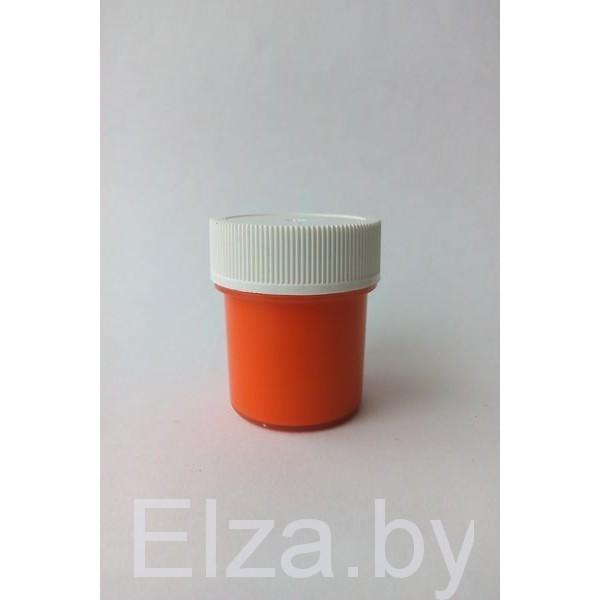 """акриловая краска цвет """"оранжевый"""" 20мл"""