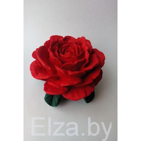 """Силиконовая форма для мыла """"королевская роза"""""""