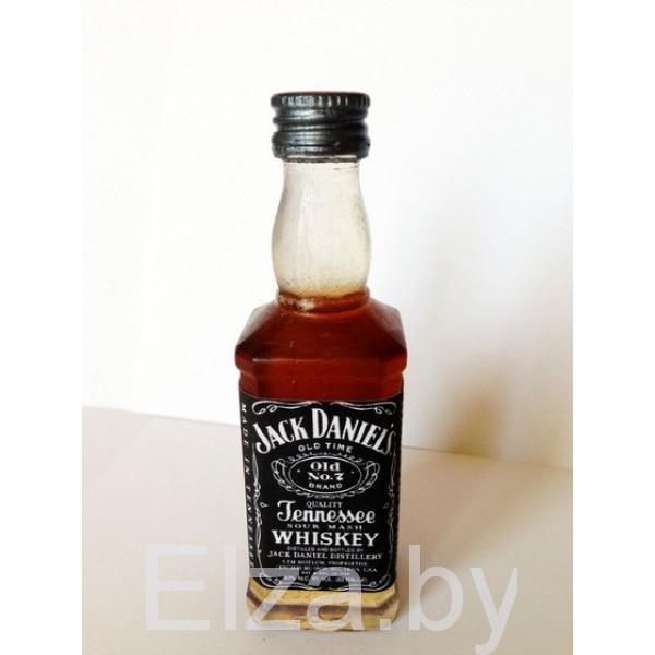"""Силиконовая форма для мыла """"бутылка виски Jack Daniels"""" 3D"""