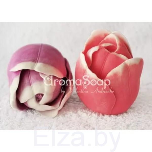 """Силиконовая форма для мыла """"тюльпан"""" 3D"""