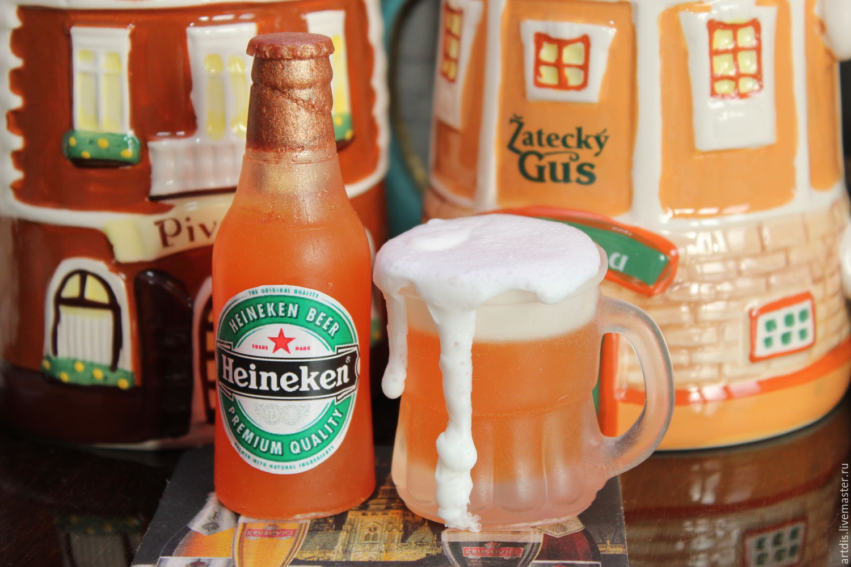 купить силиконовую форму кружка пива