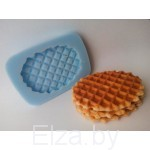"""Силиконовая форма для мыла """"вафельное печенье"""""""