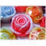 """Силиконовая форма для мыла """"роза """" 3D"""