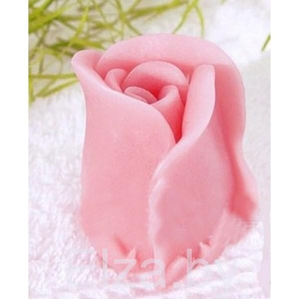"""Силиконовая форма для мыла """"бутон розы маленький"""" 3D"""